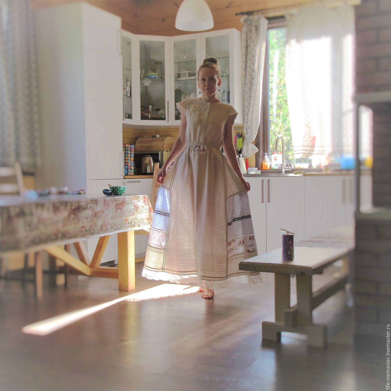 "Linen exclusive dress "" Christmas"", Dresses, Altaic,  Фото №1"