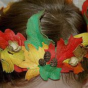 """Работы для детей, ручной работы. Ярмарка Мастеров - ручная работа Венок """"Осенний"""". Handmade."""