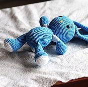 Куклы и игрушки handmade. Livemaster - original item Blue Bunny. Handmade.