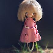 Куклы и игрушки ручной работы. Ярмарка Мастеров - ручная работа Текстильная кукла_5. Handmade.