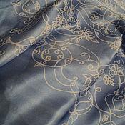 Аксессуары handmade. Livemaster - original item Silk shawl