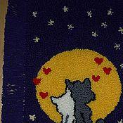 Для дома и интерьера ручной работы. Ярмарка Мастеров - ручная работа коврик. Handmade.