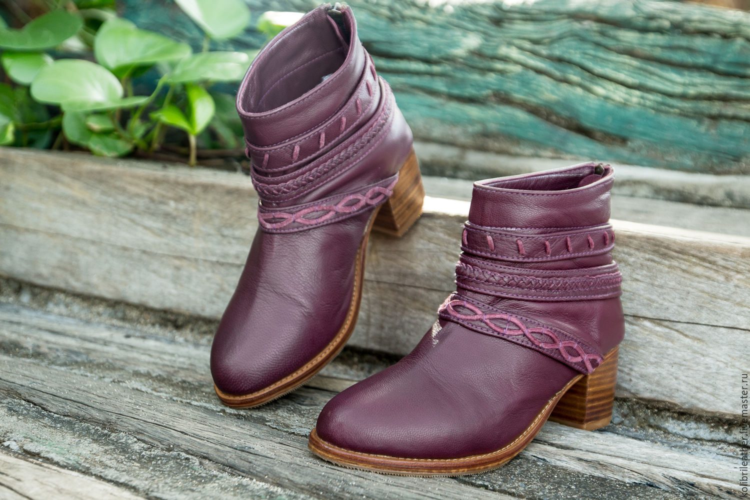 Leather women's boots spring and autumn Jessica, Boots, Chelyabinsk,  Фото №1