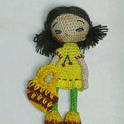 Куклы и игрушки ручной работы. Ярмарка Мастеров - ручная работа Кукла Вишенка. Handmade.