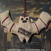 """Куклы и игрушки ручной работы. Ярмарка Мастеров - ручная работа Примитивная игрушка """"Летучая мышь"""". Handmade."""