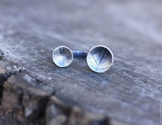 """Кольца ручной работы. Ярмарка Мастеров - ручная работа. Купить кольцо """"Лесные следы"""", серебро. Handmade. Серебряный, кольцо серебряное"""