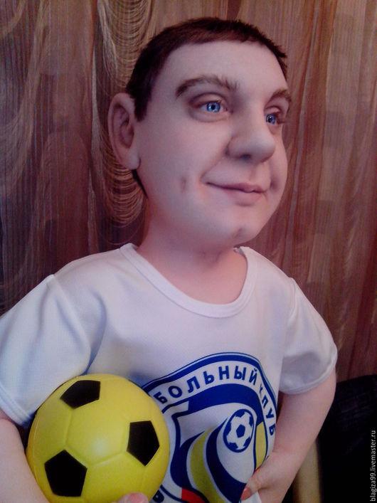 Портретные куклы ручной работы. Ярмарка Мастеров - ручная работа. Купить портретная  кукла по фото. Handmade. Портретная кукла, проволка