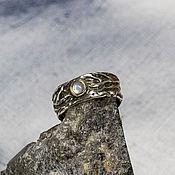 Украшения handmade. Livemaster - original item READY-made men`s ring with labradorite