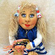 Куклы и игрушки ручной работы. Ярмарка Мастеров - ручная работа Готовая работа. Кукла Морячка. Handmade.