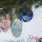 Подарки к праздникам handmade. Livemaster - original item Large pendants toys on the Christmas tree a