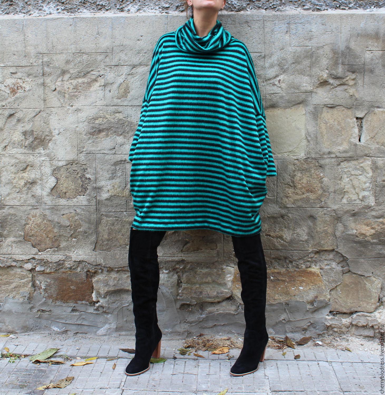 Большой размер туника платье с доставкой
