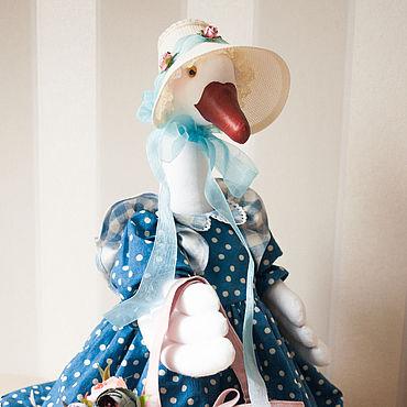 Куклы и игрушки ручной работы. Ярмарка Мастеров - ручная работа Гусыня ,интерьерная кукла.. Handmade.