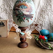 Подарки к праздникам handmade. Livemaster - original item Interior egg