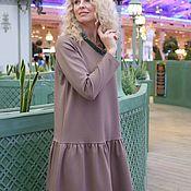 В единственном экземпляре! Платье EGGDRESS JERSEY MORNING CAPPUCCINO