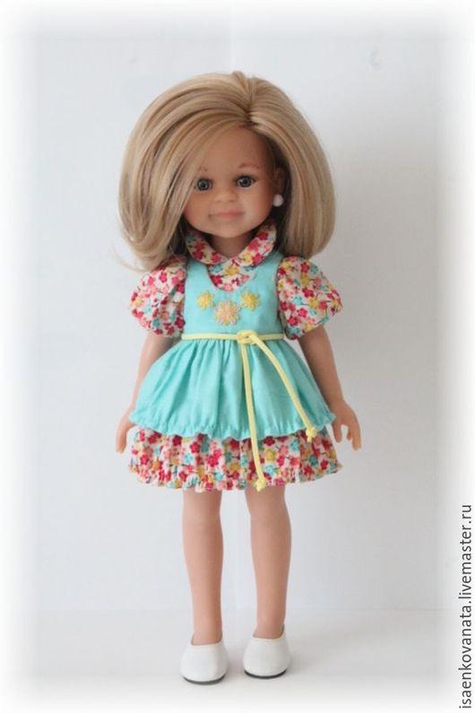 """Одежда для кукол ручной работы. Ярмарка Мастеров - ручная работа. Купить Комплект для куклы Paola Reina """"Цветочное настроение"""". Handmade."""
