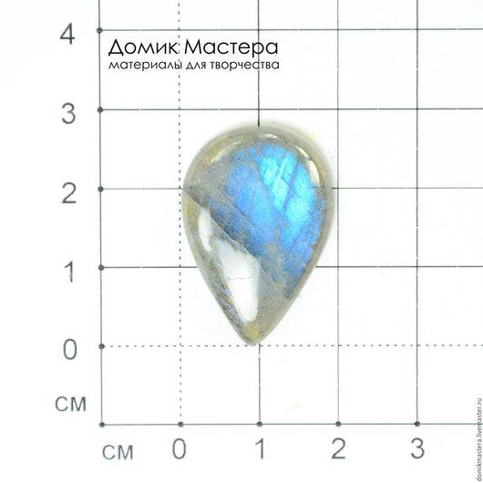 K-K-000467 - лабрадорит, кабошон, 28х19х4мм - 291р.  Наличие: 1шт.  Допустимы трещинки природного характера.