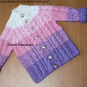 Работы для детей, handmade. Livemaster - original item jacket I`m a Princess. Handmade.