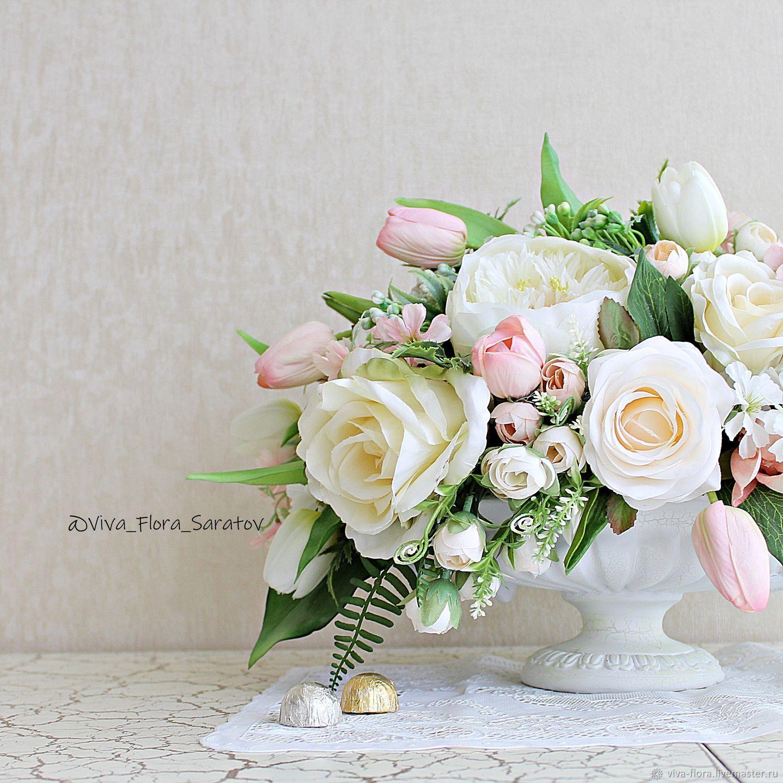 """Букет цветов в вазе """"Марсэлла"""", Композиции, Энгельс, Фото №1"""