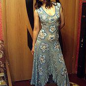 """Одежда ручной работы. Ярмарка Мастеров - ручная работа Платье """"Голубая нежность"""". Handmade."""