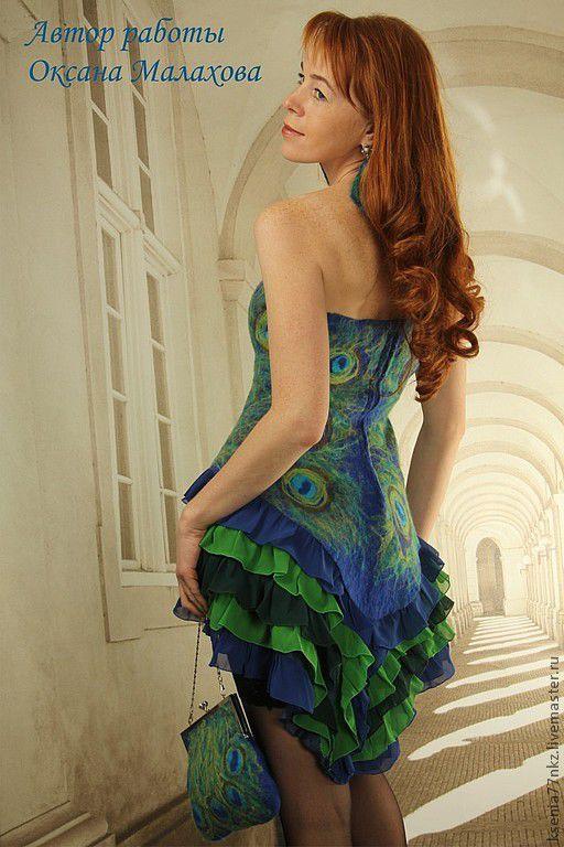 """Платья ручной работы. Ярмарка Мастеров - ручная работа. Купить Платье """" Восточный мотив"""". Handmade. Синий, вечерний наряд"""