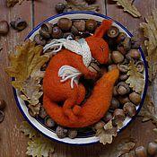 Куклы и игрушки ручной работы. Ярмарка Мастеров - ручная работа Осенний бельчонок. Handmade.