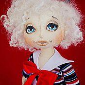 Куклы и игрушки handmade. Livemaster - original item Textile doll Marinka.. Handmade.