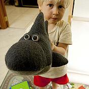 Куклы и игрушки ручной работы. Ярмарка Мастеров - ручная работа Акула. Handmade.