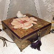 Для дома и интерьера ручной работы. Ярмарка Мастеров - ручная работа Шкатулка для украшений  ETRO подарок женщине. Handmade.