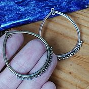 Материалы для творчества handmade. Livemaster - original item Connector for jewelry Art.KP14. Handmade.