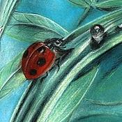 Картины и панно ручной работы. Ярмарка Мастеров - ручная работа Пастель - Диптих - Вечер, Утро. Handmade.