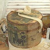 """Для дома и интерьера ручной работы. Ярмарка Мастеров - ручная работа """"Dames a la mod"""" шляпная коробка. Handmade."""