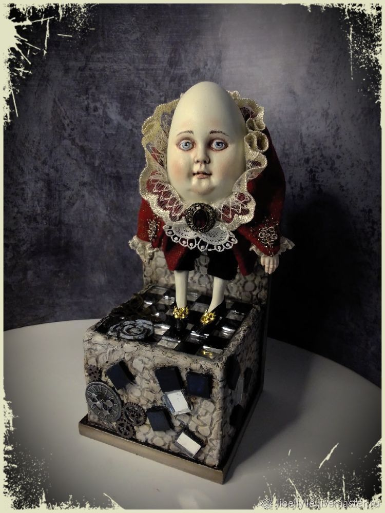 Шалтай Болтай, Интерьерная кукла, Магнитогорск,  Фото №1