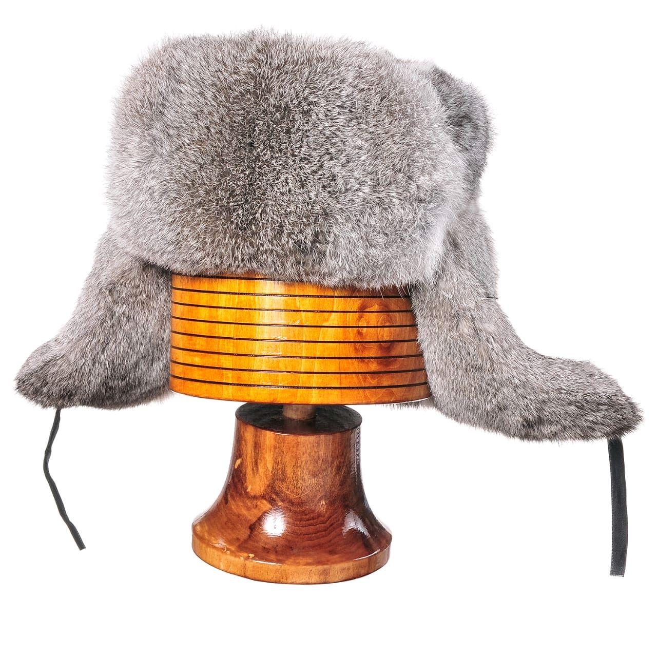Men's rabbit fur hat, Caps, Moscow,  Фото №1