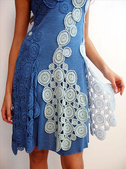 Платье выполнено по мотивам работ турецкого дизайнера Аксу Бора.