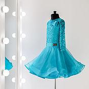 Платья ручной работы. Ярмарка Мастеров - ручная работа Vanessa №1-01 Платье для бальных танцев. Handmade.