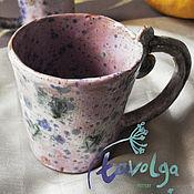 Посуда ручной работы. Ярмарка Мастеров - ручная работа Розовый зефир. Handmade.