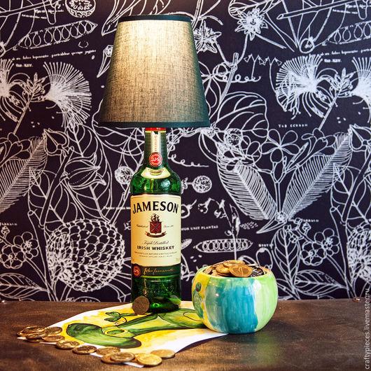 """Освещение ручной работы. Ярмарка Мастеров - ручная работа. Купить Светильник """"Jameson Lamp"""". Handmade. Лофт, дизайн интерьера, handmade"""