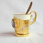 Посуда handmade. Livemaster - original item Coffee Cup Agat No. 2. Handmade.