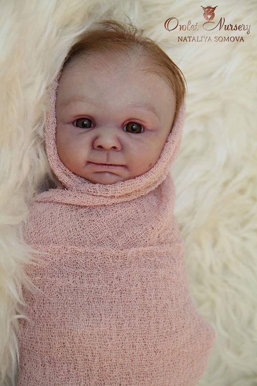 Куклы-младенцы и reborn ручной работы. Ярмарка Мастеров - ручная работа. Купить Роза. Handmade. Бледно-розовый, кукла по фото