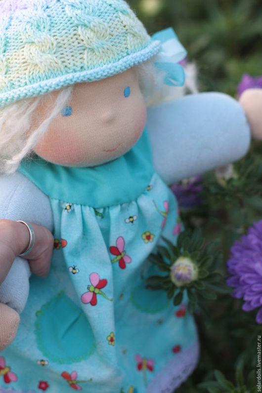 Вальдорфская кукла Незабудка 33см .Julia Solarrain (SolarDolls) Ярмарка Мастеров