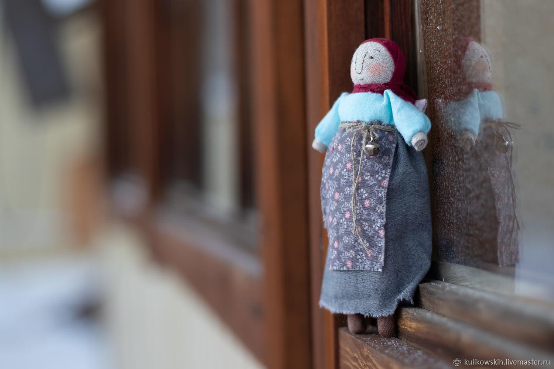 Кукла Девка с крыльями, Народная кукла, Советский,  Фото №1