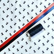 """Материалы для творчества ручной работы. Ярмарка Мастеров - ручная работа Поплин """"Лошиди"""". Handmade."""