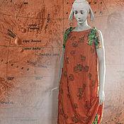 Одежда ручной работы. Ярмарка Мастеров - ручная работа Платье Жара. Handmade.