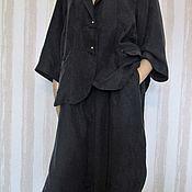 Одежда handmade. Livemaster - original item Silk business suit. Handmade.