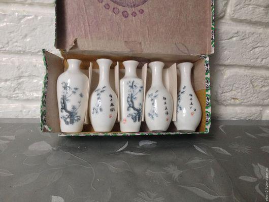 Винтажная посуда. Ярмарка Мастеров - ручная работа. Купить Винтажный китайский фарфор. Handmade. Винтаж, вазочка, для коллекционера