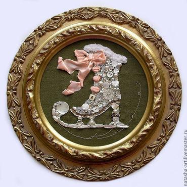 Картины и панно ручной работы. Ярмарка Мастеров - ручная работа Сверкающий конёк для Аллы. Handmade.