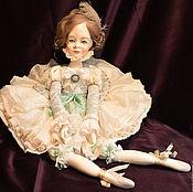 Куклы и игрушки ручной работы. Ярмарка Мастеров - ручная работа Будуарная кукла  для девочки Юная балерина. Handmade.