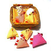 Куклы и игрушки handmade. Livemaster - original item Chick, textile hens and chickens,Easter souvenir. Handmade.