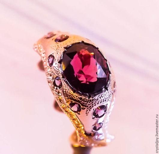 """Кольца ручной работы. Ярмарка Мастеров - ручная работа. Купить """"Праздник Любви"""". Handmade. Розовый, Авторский дизайн"""