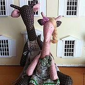 Куклы и игрушки ручной работы. Ярмарка Мастеров - ручная работа тильда (жираф) кукла. Handmade.